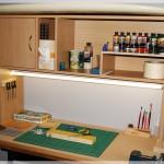 Modelling work station
