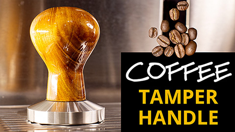 Coffee tamper handle